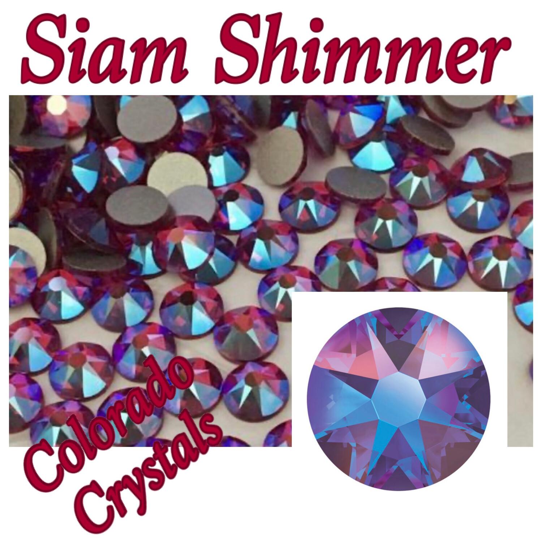 Siam Shimmer 12ss Limited Swarovski