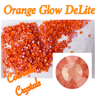 Orange Glow DeLite (Crystal) 12ss 2088 Limited Pro Lacquer