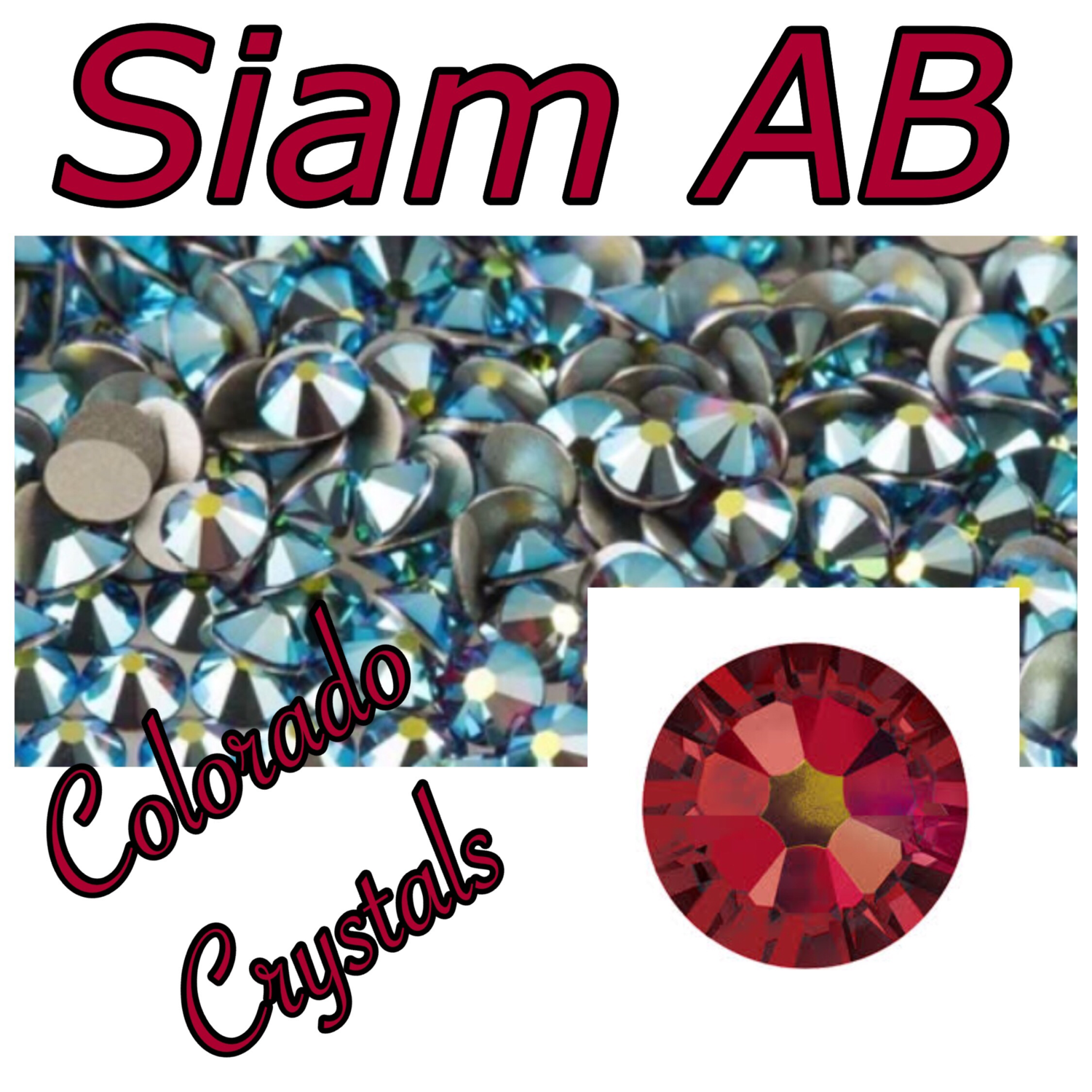 Siam AB 16ss 2058 Limited Clearance Crystals