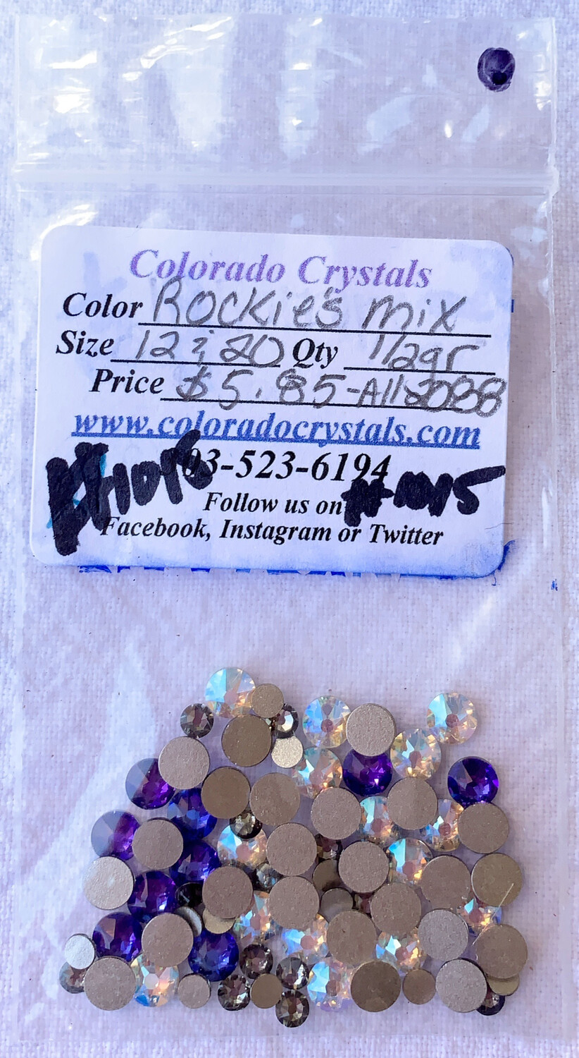 Rockies Swarovski Crystal Mix