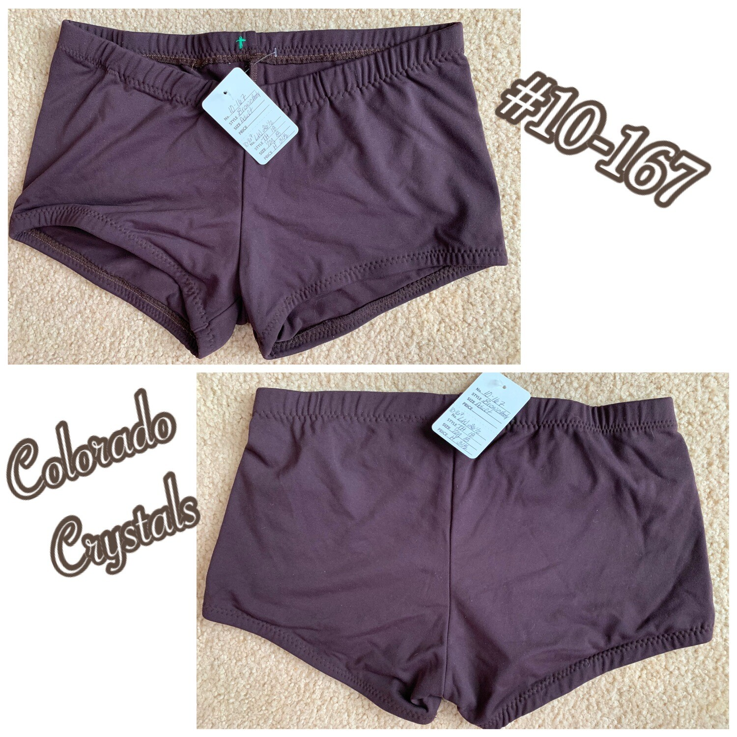 Booty Shorts Adult New Small Audition gear