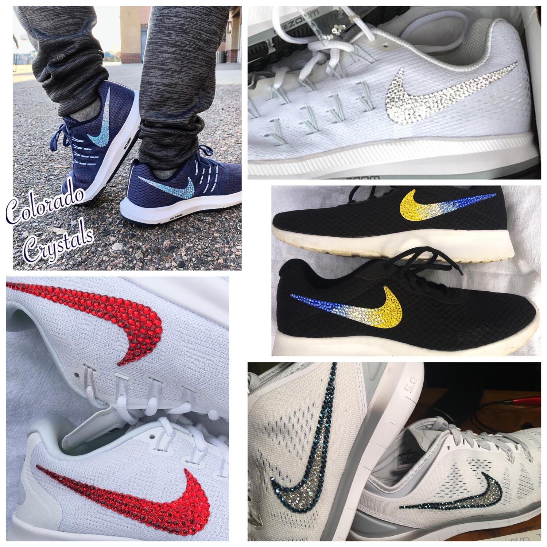 Custom bling your favorite Nike's