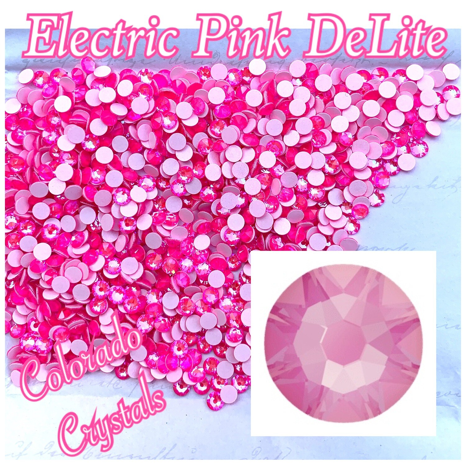 Electric Pink DeLite 16ss 2088 Limited