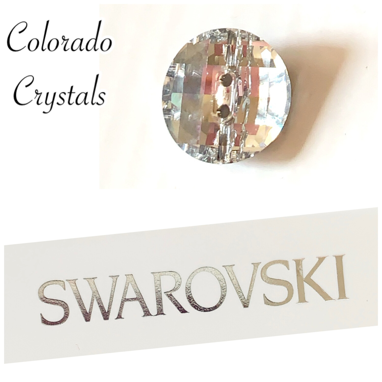 Button Crystal Swarovski 3016