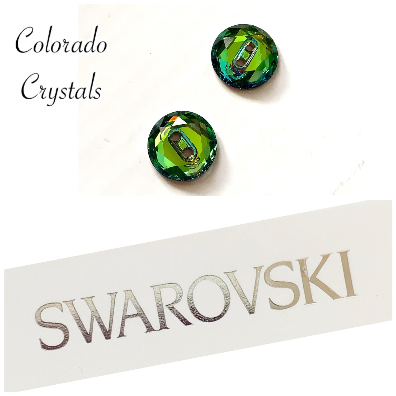 Buttons Meridian Blue (Crystal) Swarovski 3014