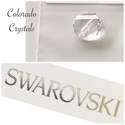 Twisted Flat Bead Crystal 5621 Swarovski