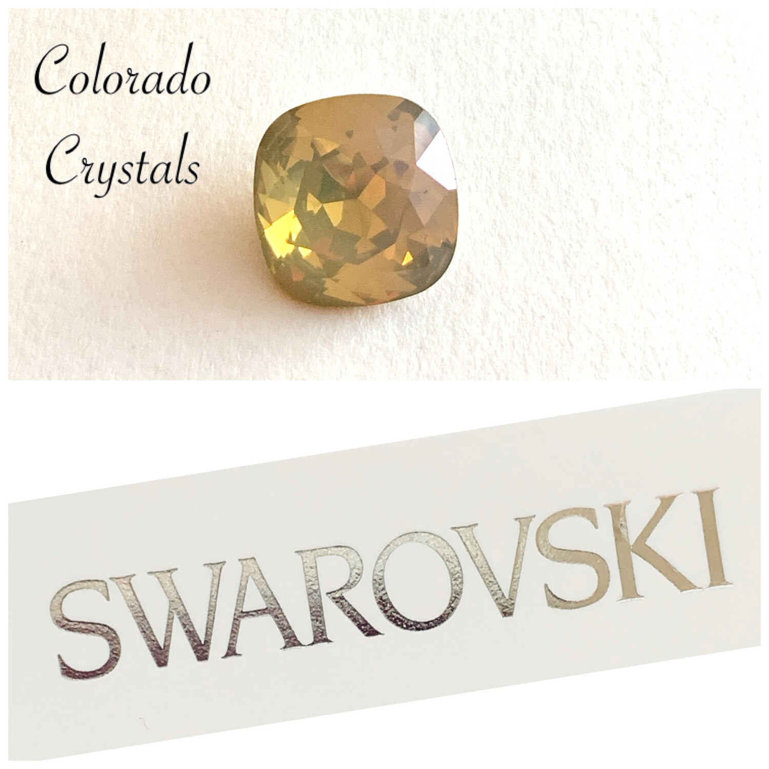 Sand Opal Cushion Cut 4470 Swarovski