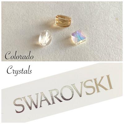 Mini 3 piece Bead set #5051,2,3 series Swarovski