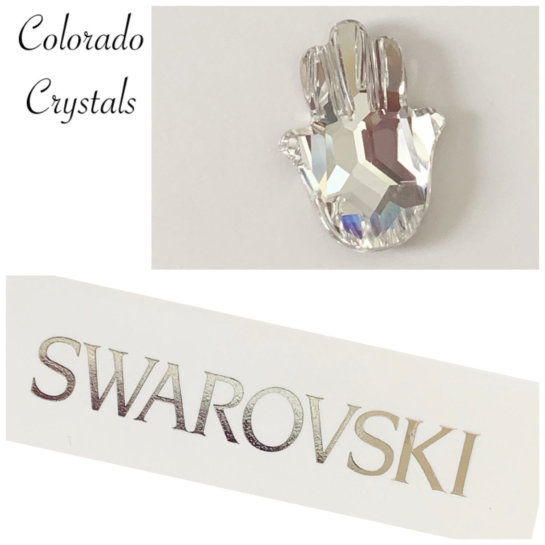 Hand Fancy Stone Crystal 4778 Swarovski