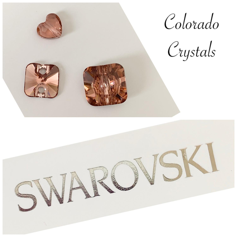 Blush Rose Bead & Button Combo Swarovski