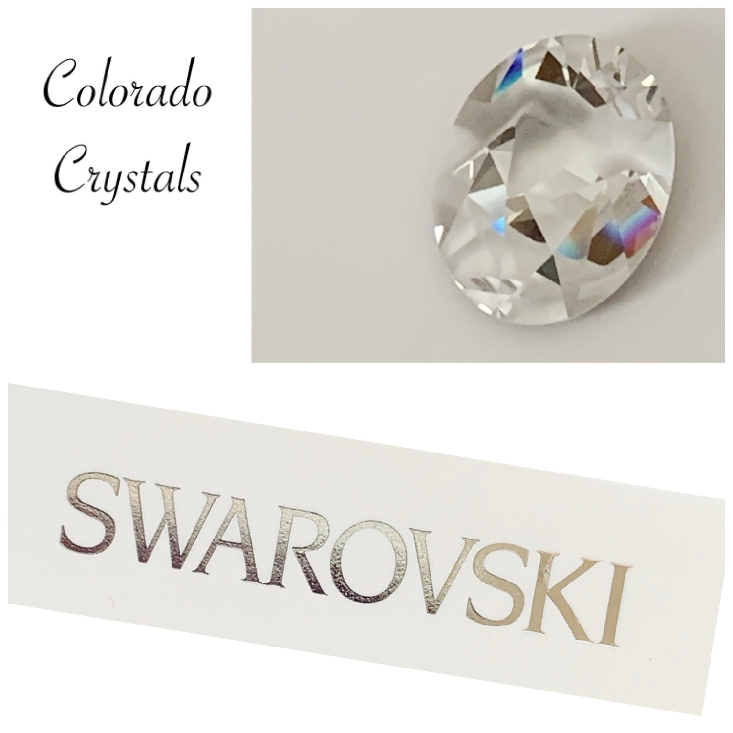 Kaputt Oval Fancy #4921 Crystal Swarovski