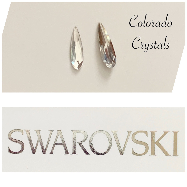 Raindrop Duo 2304 & 4331 Crystal Swarovski