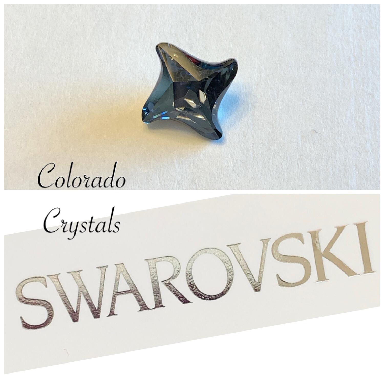 Twister Fancy Stone Graphite 4485 Swarovski