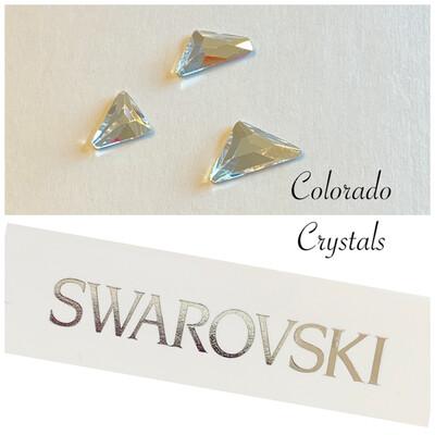Triangle Family Pack Flat Back Crystal 2738, 2739, 2740 Swarovski