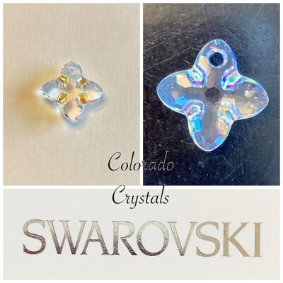 Cross Tribe Pendant Crystal AB 6868 Swarovski