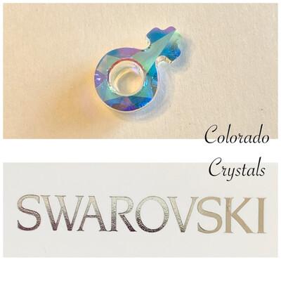 Female Symbol Fancy Stone Crystal AB 4876 Swarovski