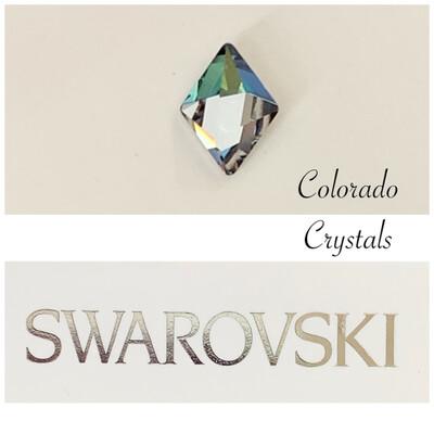 Tilted Spike Fancy Stone Crystal Sahara 4929 Swarovski
