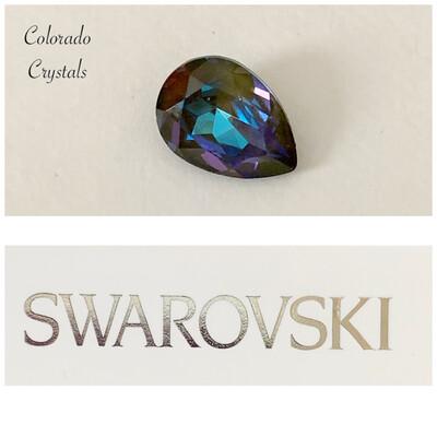 Pear Fancy Stone Crystal Army DeLite 4320 Swarovski