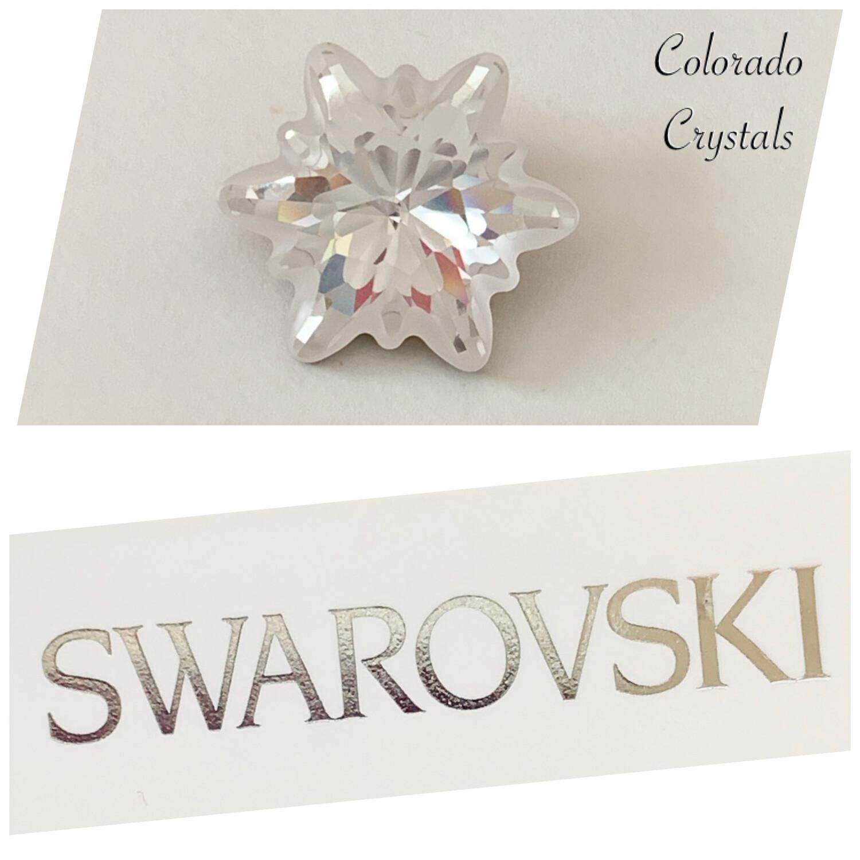 Edelweiss Fancy Stone Crystal 4753 Swarovski