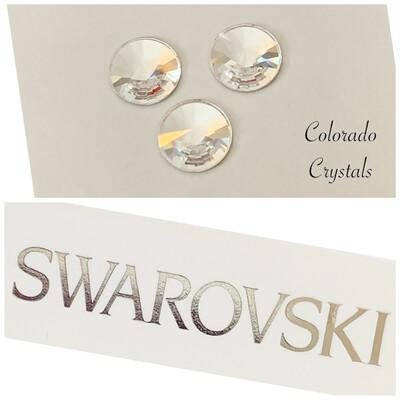 Rivoli Flat Back 3pc set Crystal 2006 Swarovski