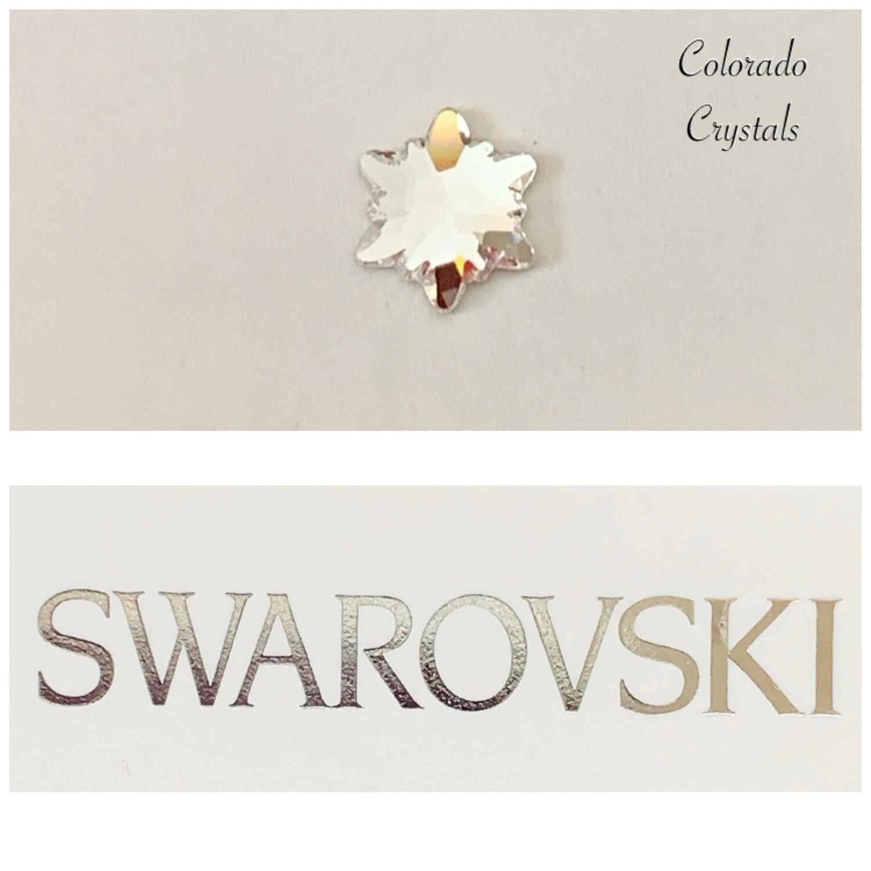 Edelweiss Flat Back Crystal 2753 Swarovski