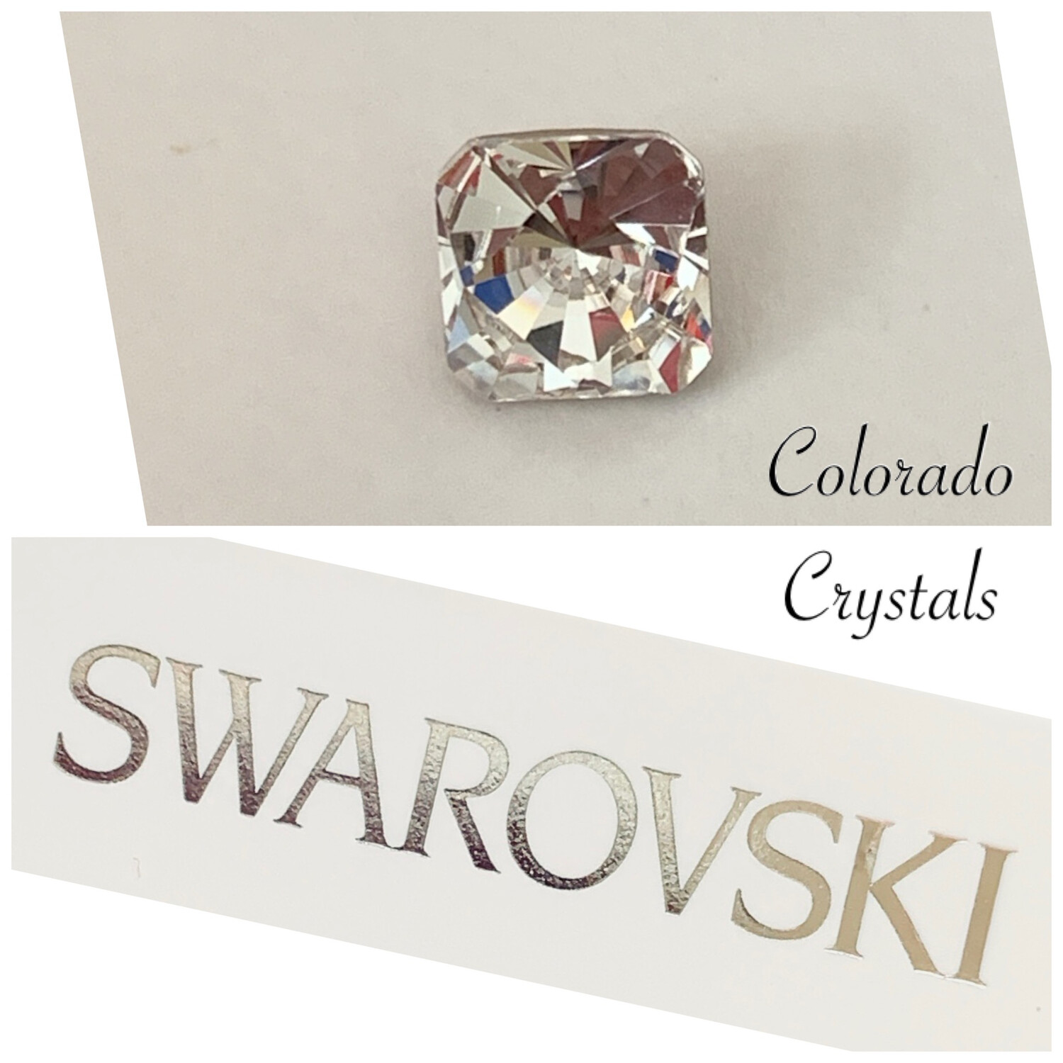 Kaleidoscope Square Fancy Crystal 4499 Swarovski