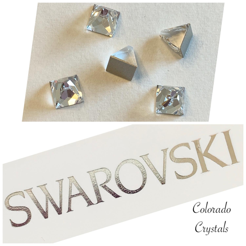 Square Spike F B 5 pcs set 2419 Crystal Swarovski