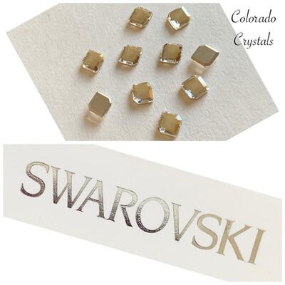 Concise Hexagon FB 10pc Crystal 2777 6.7X5.6 mm Swarovski
