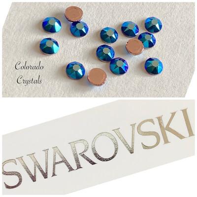 Cobalt Shimmer FB 14pc 2078 Swarovski