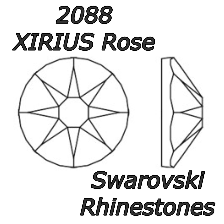 Electric 12ss Assortment Crystal Mix Swarovski 2088