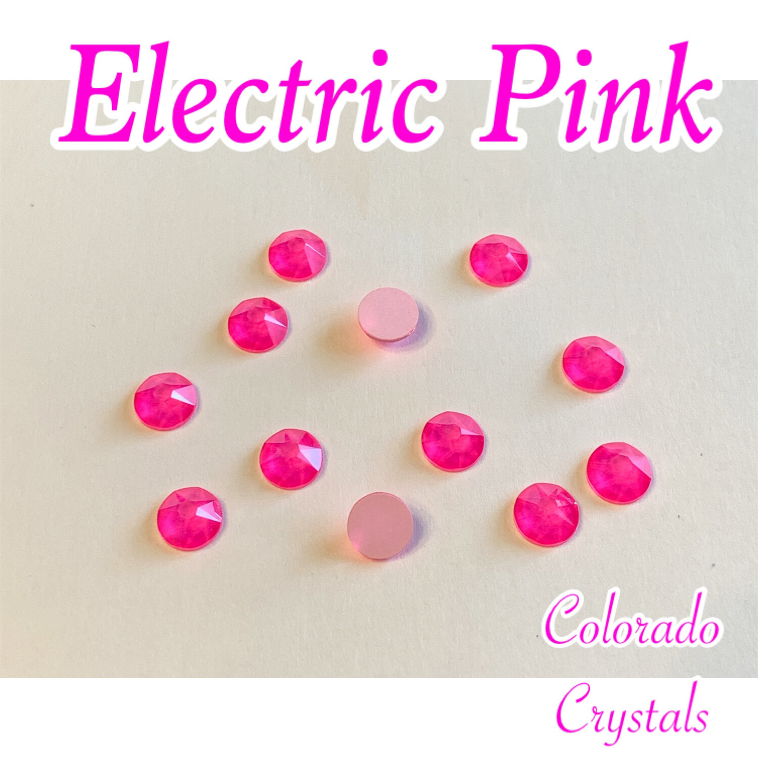 Electric Pink (Crystal) 30ss 2088 Limited