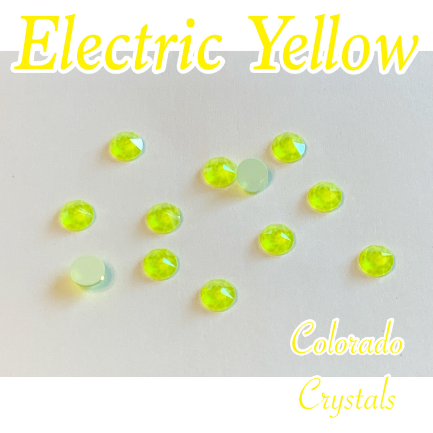 Electric Yellow (Crystal) 30ss 2088 Limited