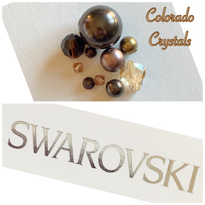 Bead Assorted Pack - Browns Swarovski