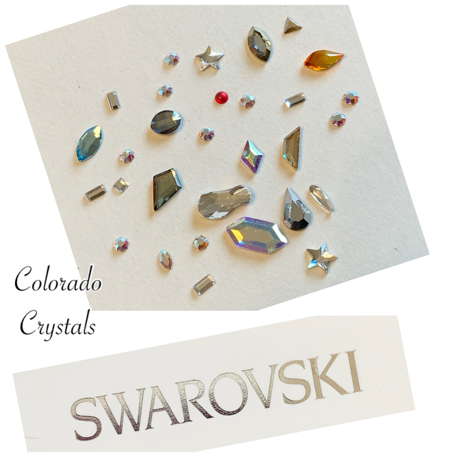 Nail Art Mini Shapes Assortment - Swarovski