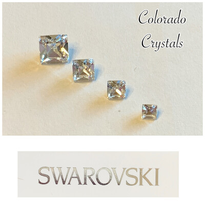 Square Fancy Stone Set - Swarovski 4428