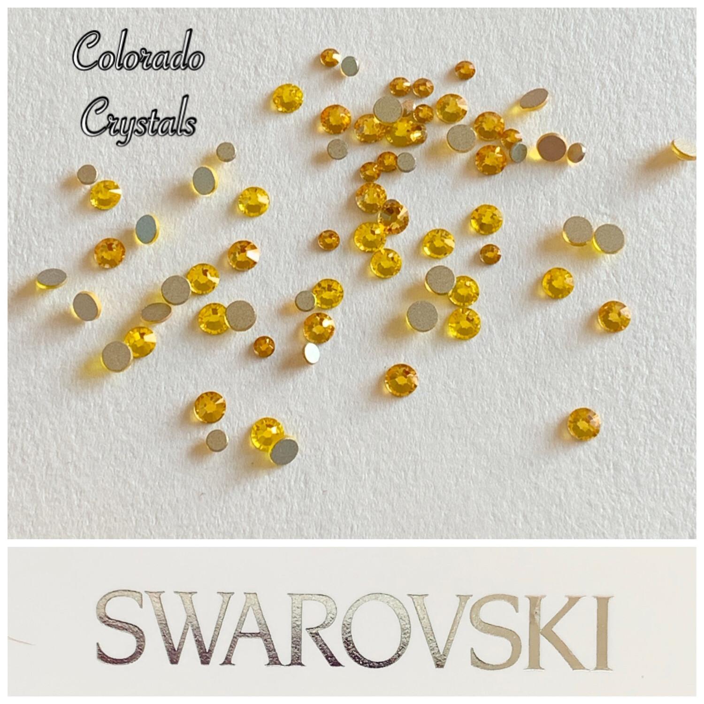 Yellow Small Mix - 2058 Swarovski