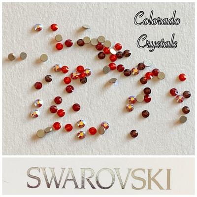 Red ss5 Mixture - 2058 Swarovski