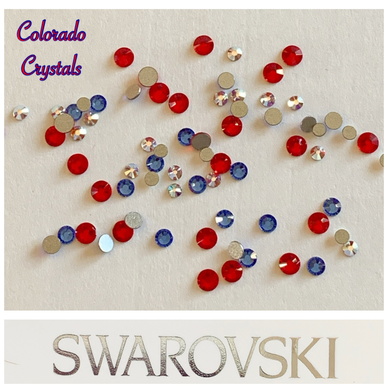 Red, White & Blue Mix - 2058 Swarovski
