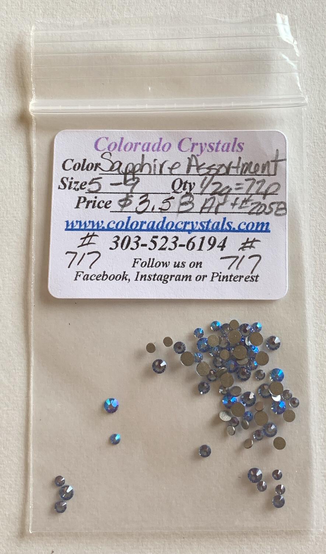 Sapphire Assortment - 2058 Swarovski