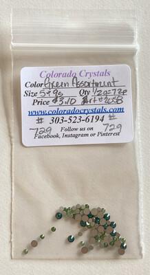 Green Assortment - 2058 Swarovski