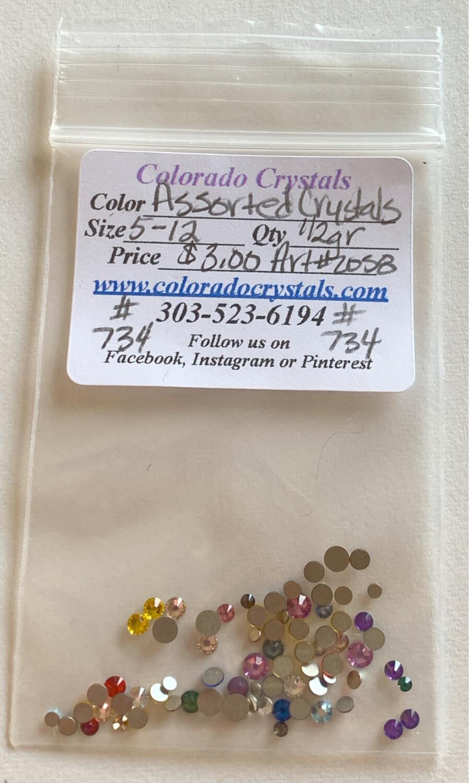 Assorted Crystals - 2058 Swarovski