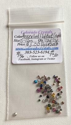 Assorted Flat Back Crystals - 2058 Swarovski