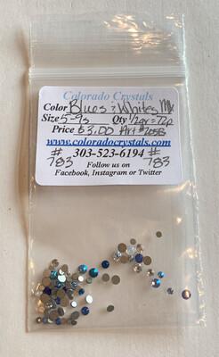 Blues & Whites Mix - 2058 Swarovski