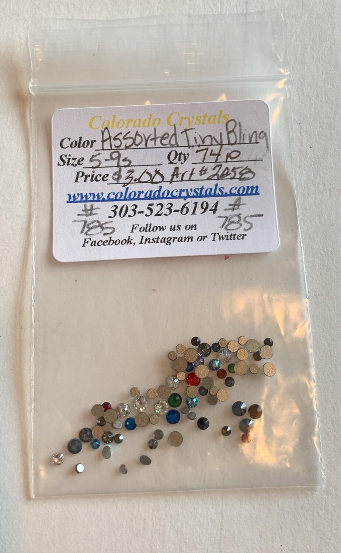 Assorted Tiny Bling - 2058 Swarovski