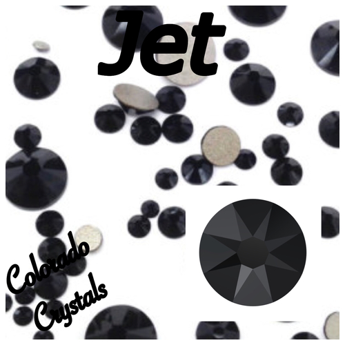 Jet 20ss 2088 Limited Swarovski Rhinestones