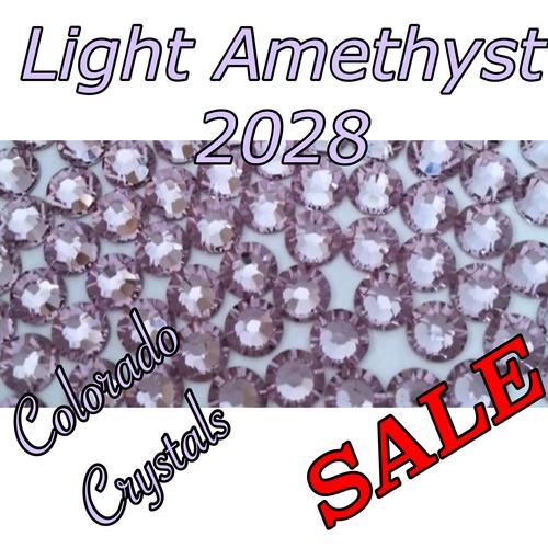 Light Amethyst Swarovski Clearance Rhinestones 9ss