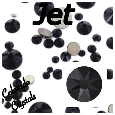Jet 12ss 2088 Limited Swarovski Black Rhinestones