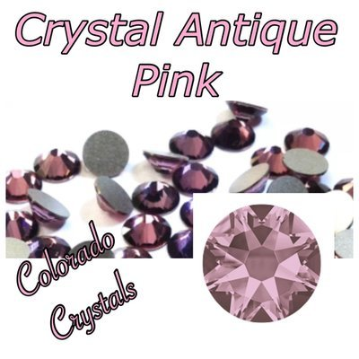 Antique Pink (Crystal) 12ss 2088 Limited