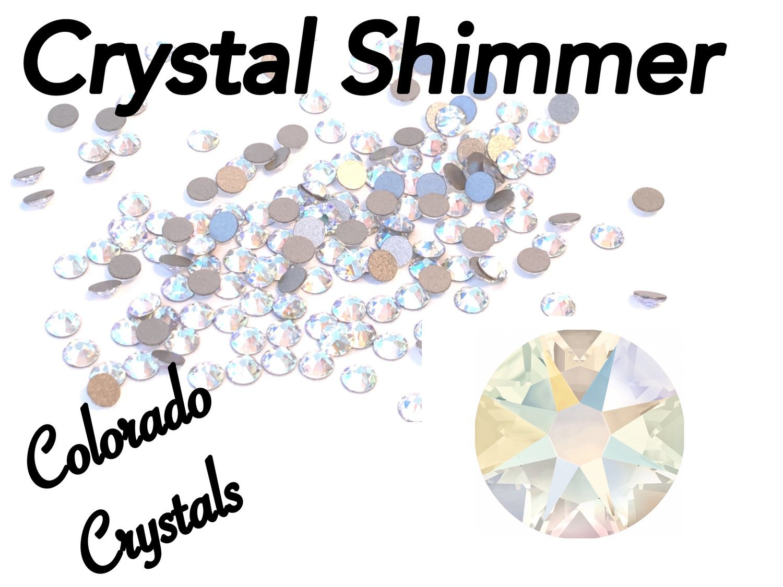 Crystal Shimmer 20ss 2088 Swarovski XIRIUS Flat backs