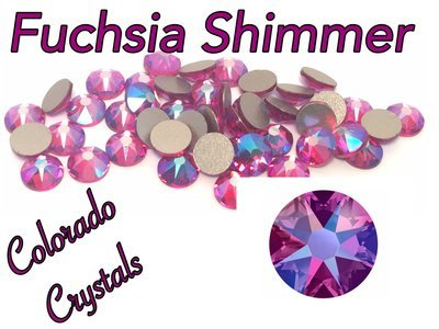 Fuchsia Shimmer 16ss 2088 Limited Swarovski XIRIUS Rose Crystal Passions